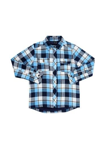 Asymmetry Sweatshirt Mavi